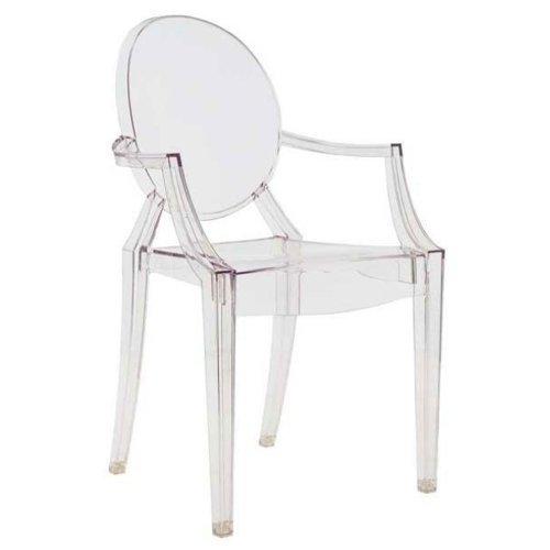 Kartell-Louis-Ghost-Sedia-Confezione-da-4-Pezzi-Cristallo-trasparente-plastica-B005UBKAW2